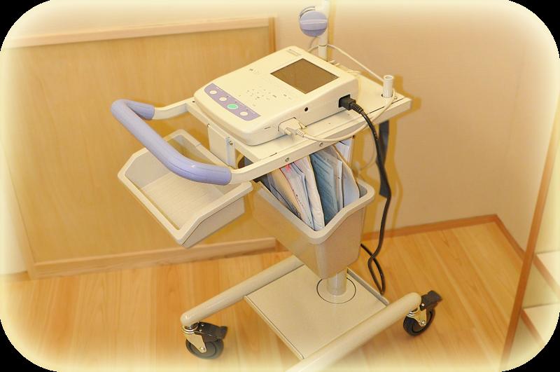 自動解析機能付き心電計